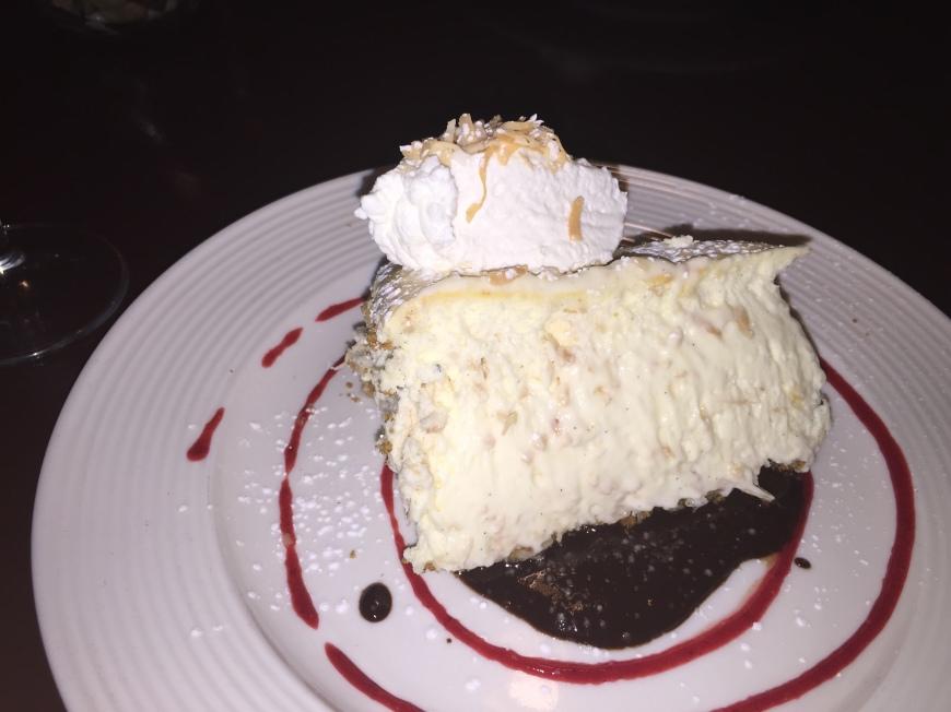 Amaretto-Coconut Cheesecake